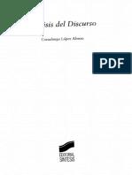 Lopez Alonso Covadonga - Analisis  Del Discurso