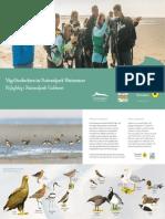 02-Broschuere Und Karte Voegel Beobachten Pa Fuglekig Nakuwa