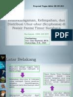 Keanekaragaman Kelimpahan Dan Distribusi Ubur-Ubur (