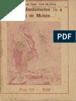 Os dez Mandamentos, ou, a vida de Moisés