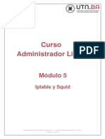 Modulo 5 - Iptables y Squid