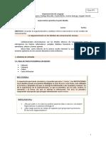 Guía argumentación y análisis en textos cuarto medio guia 1