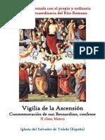 20 de mayo de 2020. Vigilia de La Ascensión y San Bernardino de Siena. Propio y Ordinario de la santa misa