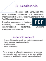 Unit 8 Leadership
