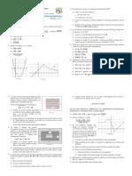 Repaso de funciones lineales y cuadráticas