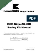 04 ZX 6RR Kit Manual