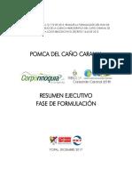 2. Documento final. Resumen ejecutivo formulación. POMCA CARANAL