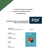 Investigación sobre las NIF y postulados básicos
