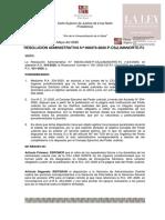 Resolución Administrativa  N° 000373-2020-P-CSJLIMANORTE-PJ