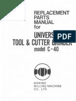 Makino C40 Parts