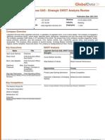 Lagardere Services SAS - Strategic SWOT Analysis Review