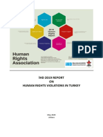 İHD Human Rights violations in Turkey - 2019 Report