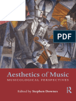 Aesthetics of Music - Unknown