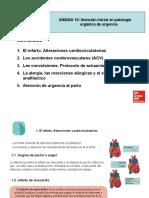 ATENCION INCIAL EN PATOLOGIA ORGANICA DE URGENCIA