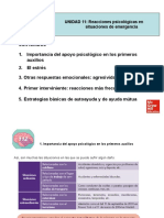 REACCIONES PSICOLOGICAS EN SITUACIONES DE EMERGENCIA