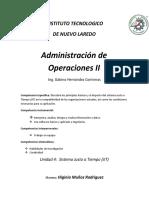 Actividad 1 JIT -- Investigacion  --    Higinio Muñoz Rodriguez  17100421