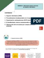 VALORACION INICIAL Y TECNICAS DE SOPORTE VITAL BASICO