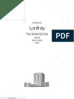 Infiniti TSS450 Subwoofer and satelite speakers system