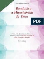 A Bondade e a Misericórdia de Deus