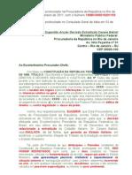 Petição Anular Decisão Extradição Cesare Batisti