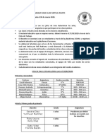 LINEAMIENTOS CLASE PILOTO