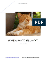 More Ways to Kill a Cat