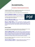 SEMANA 12. DILIGENCIAMIENTO - DECLARACION DE TESTIGOS