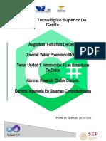 UNIDAD 1 Investigacion  Introduccion a las Estructuras Datos.docx