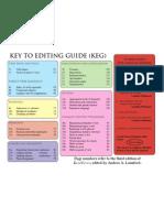 Key to Editing Guide (KEG)
