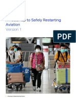IATA - Roadmap Safely Restarting Aviation - Version 1 - April 29 2020