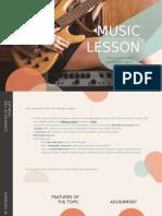 Music Lesson by Slidesgo