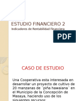 Estudio financiero 2