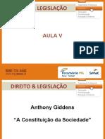AULA DE DIREITO ESTRUTURA SOCIAL