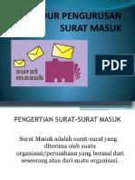 PROSEDUR PENGURUSAN SURAT MASUK - Copy