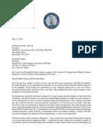 5-12-20 Letter to HANYS President Grause and GNYHA President Raske on Compassionate Helper Volunteer Program