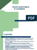 Evaluarea psihologica in  consiliere.pdf