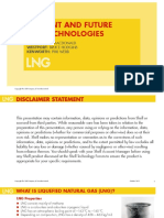 SHELL - CURRENT AND FUTURE LNG TECHNOLOGIES