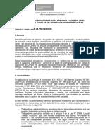 Lineamientos obligatorios para desarrollar procedimientos y protocolos APN