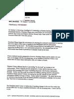 Declassified Susan Rice E-Mail Targeting Michael Flynn