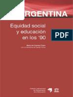 Feijoo_M(2002)_Argeninta_Equidad Social y educacion en los 90pdf-1-32