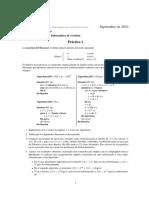 Programación C - Práctica 1