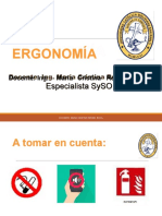 ERGONOMIA I
