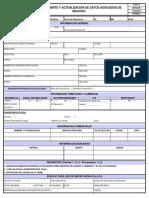 F-GF-11 CONOCIMIENTO Y ACTUALIZACIÓN DE DATOS ASOCIADOS DE NEGOCIO (NUEVO)