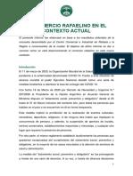 El Comercio Rafaelino en El Contexto Actual