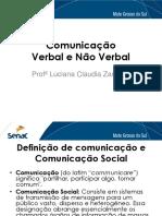 comunicao verbal e não verbal