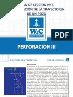 Plan de Leccion N° 6 MONITOREO Y CONTROL DE LA TRAYECTORIA DE POZO.pdf