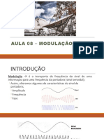 Aula 08 – Modulaçao