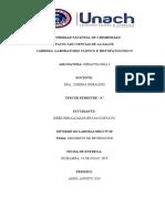 INFORME 5 - RECUENTO DE ERITROCITOS