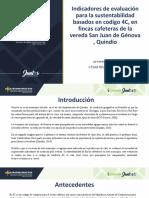 Indicadores de evaluación para la sustentabilidad en fincas cafeteras de la vereda San Juan de Génova , Quindío.pdf