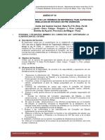 TÉRMINOS DE REFERENCIA PARA LA SUPERVISIÓN DE ESTUDIO